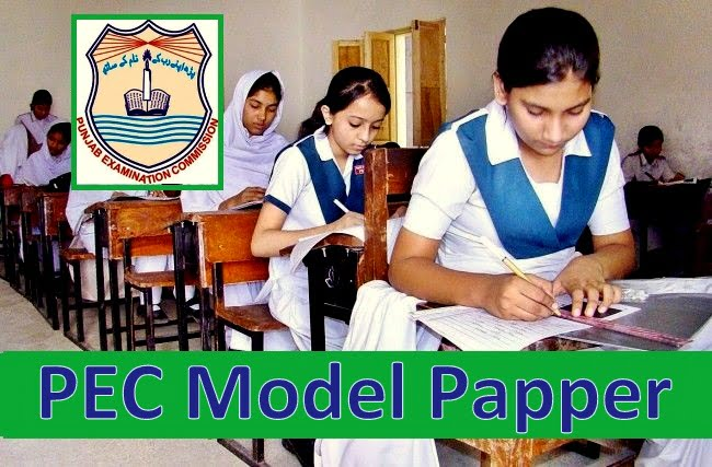 PEC Model Paper 2019 Download for PEC 5th, 8th Grade Suggestion