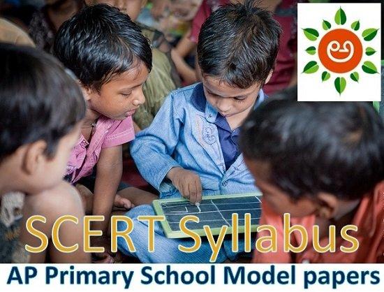SCERT AP 1st to 5th Syllabus 2020 Model Paper, Previous
