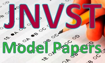 JNVST Model Papers 2020, Navodaya 5th, 9th, 10th Previous